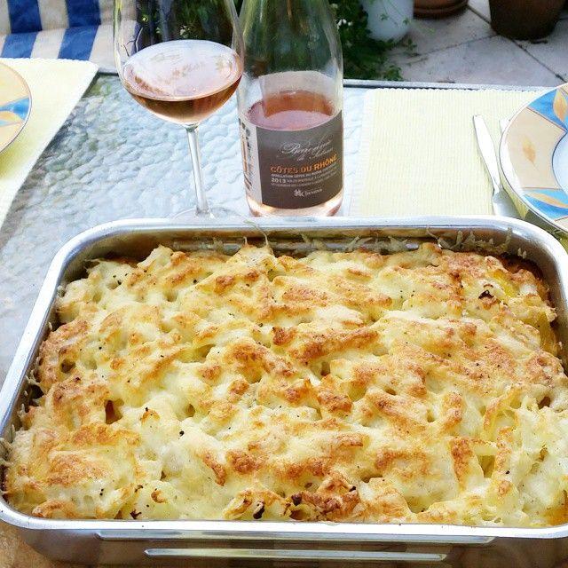 Auflauf: #Kartoffel #Kohlrabi #Hackfleisch #Sahne #Käse #lowcarbhighfat #primalpaleo #gesund #frisch #homemade #selbstgemacht #kochen #auflauf #lecker #wein #erfrischung #rosewein #onlineshop #weinhandel #essenundtrinken #issgesund