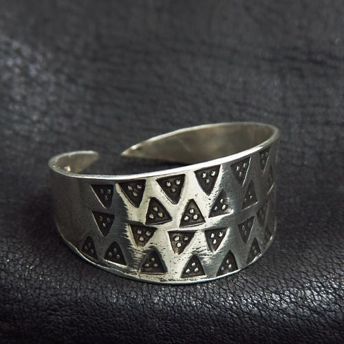 Silver Prussian ring. Reenactment. Reconstruction. Medieval. SCA.