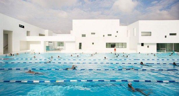 Les Bains Des Docks Aquatic Center 3 U2022 TheCoolist   The Modern Design  Lifestyle Magazine | ARCHITECTURE 建筑 | Pinterest | Arch, Building And  Architecture