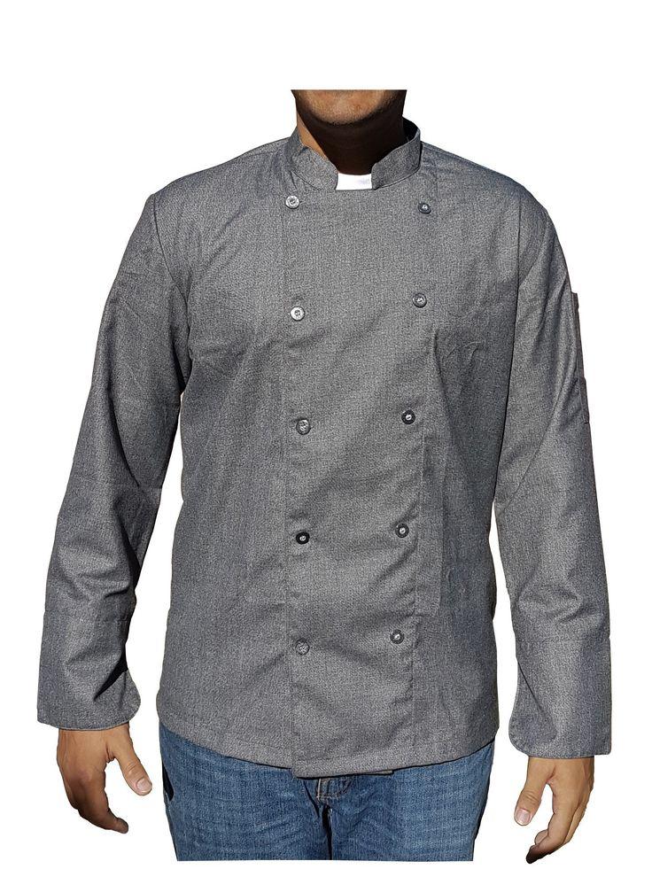 Gray Chef Coats | Chef Satchel