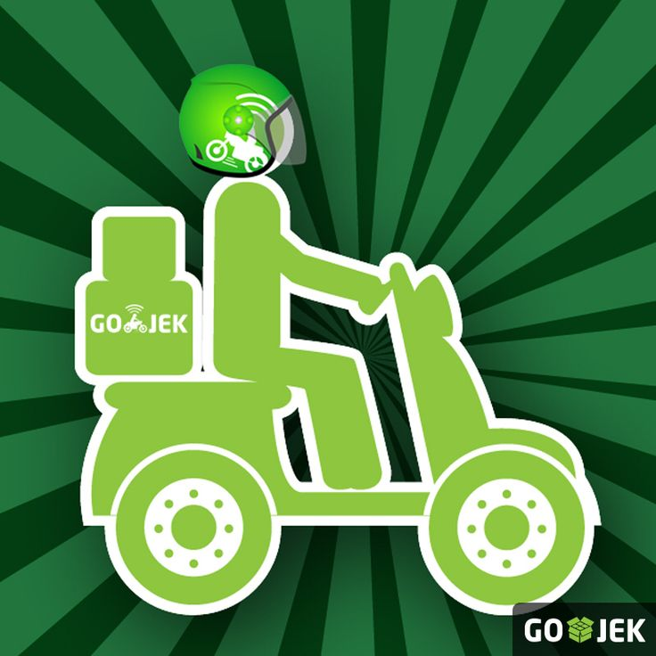GO-JEK... The leading instant delivery service for delivering your items in JABODETABEK... With the ability to track your driver, call or sms during the delivery and we strive to achieve this under 60 minutes... #gojek #gojek4life #gojekinaja #courier