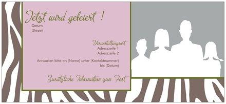 Erstellen Sie eine Einladung - Visitenkarten, Postkarten, Magnete, Broschüren, Adressaufkleber, Briefpapier. Günstige Preise.