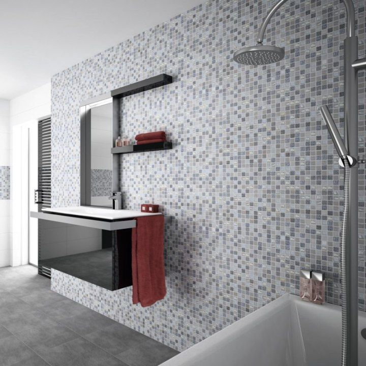 22 best Modern Mosaics images on Pinterest | Mosaics, Kitchen wall ...