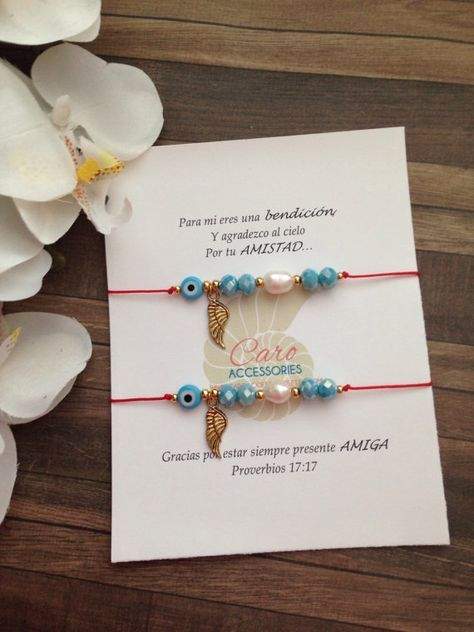 My best friend bracelets set ! https://www.etsy.com/es/listing/472776365/set-de-pulseras-amigas-forever-friends?ref=shop_home_active_1