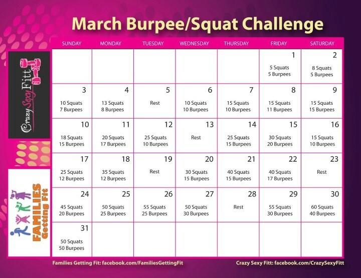squat  burpee challenge whos game