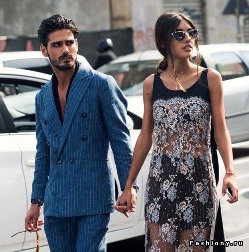 Стильная пара из Милана - Patricia Manfield & Giotto Calendoli