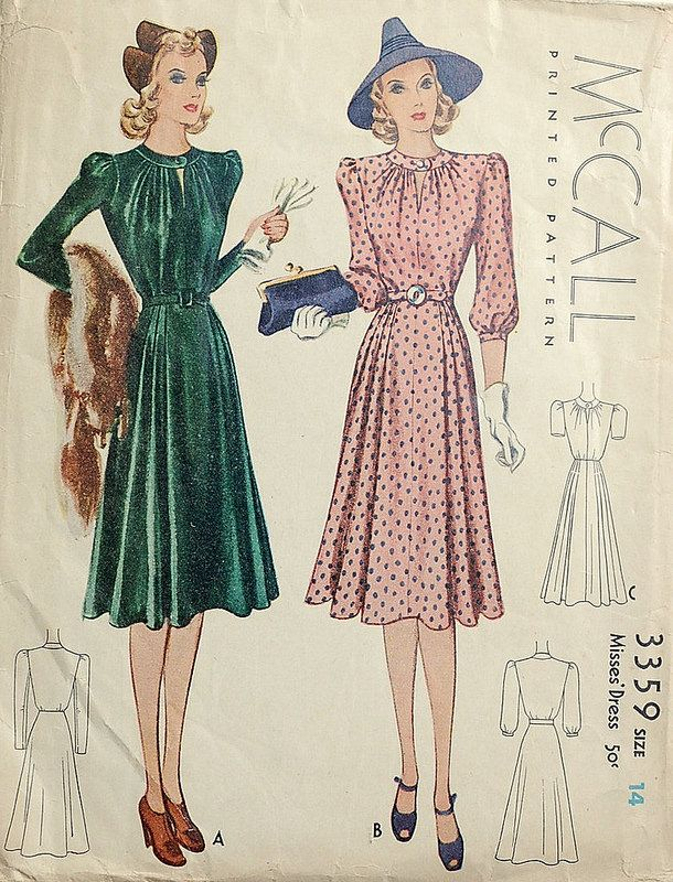 1930s McCall sewing pattern 3359 | Flickr - Photo Sharing!