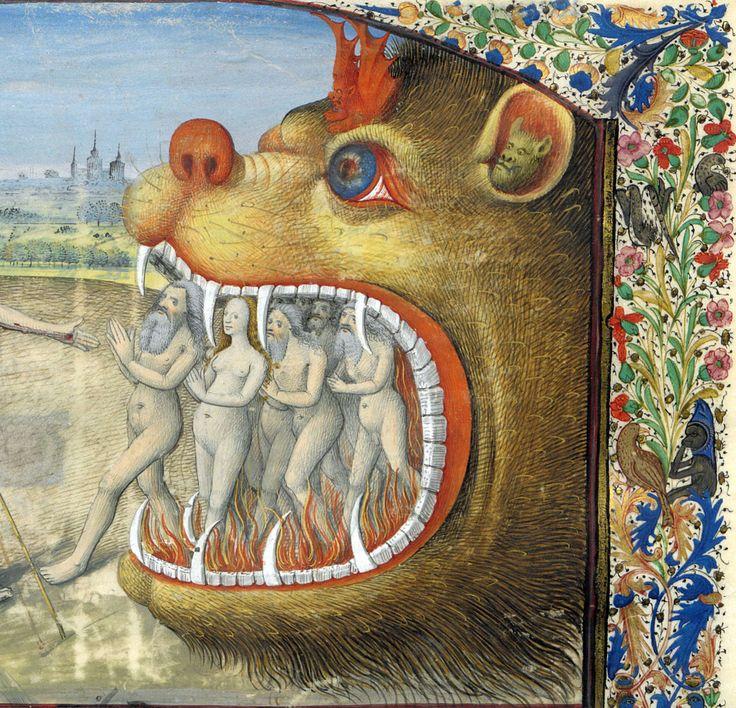 harrowing of hell Lancelot du Lac, Ahun ca. 1470 BnF, Français 113, fol. 117r