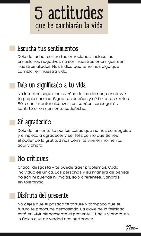 El edén creativo: 5 actitudes que cambiarán tu vida - Mandatos formales http://blog.eduardobec.com/ #frases #actitudes #eduardobec