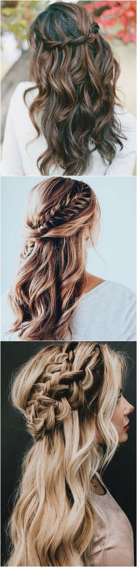 Prime 20 Half Up Half Down Wedding ceremony Hairstyles for 2018/2019