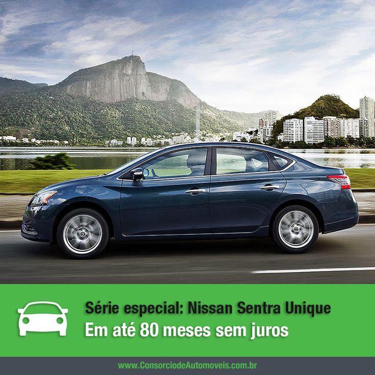 A linha 2016 do Nissan Sentra acaba de chegar ao mercado nacional e um dos principais destaques é o retorno da série especial Unique. Veja na matéria: https://www.consorciodeautomoveis.com.br/noticias/serie-especial-nissan-sentra-unique-chega-ao-mercado?idcampanha=206&utm_source=Pinterest&utm_medium=Perfil&utm_campaign=redessociais