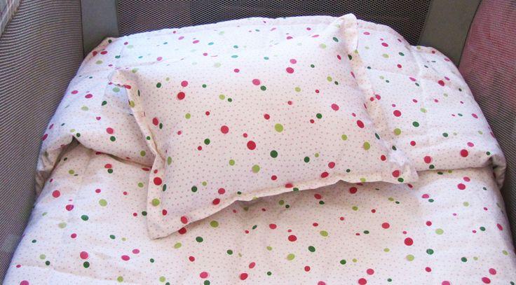 Cobertor para Cuna de Colores