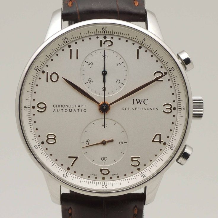 Availabe at www.ancienne.es #IWC #PortugueseChrono #37140