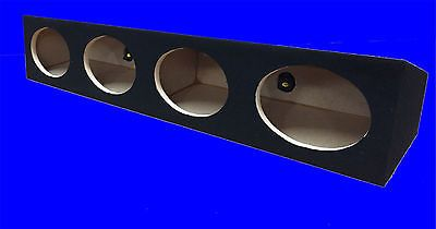 Speaker Sub Enclosures: 4 Four Hole A T 6X9 6 X 9 6 X9 Black Enclosure Speaker Box -> BUY IT NOW ONLY: $65.25 on eBay!