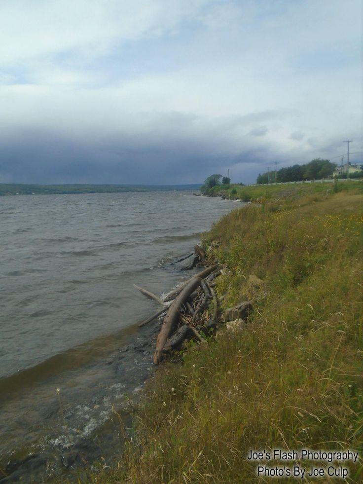 The Saint John River near Nickawic New Brusnwick September 1st 2017