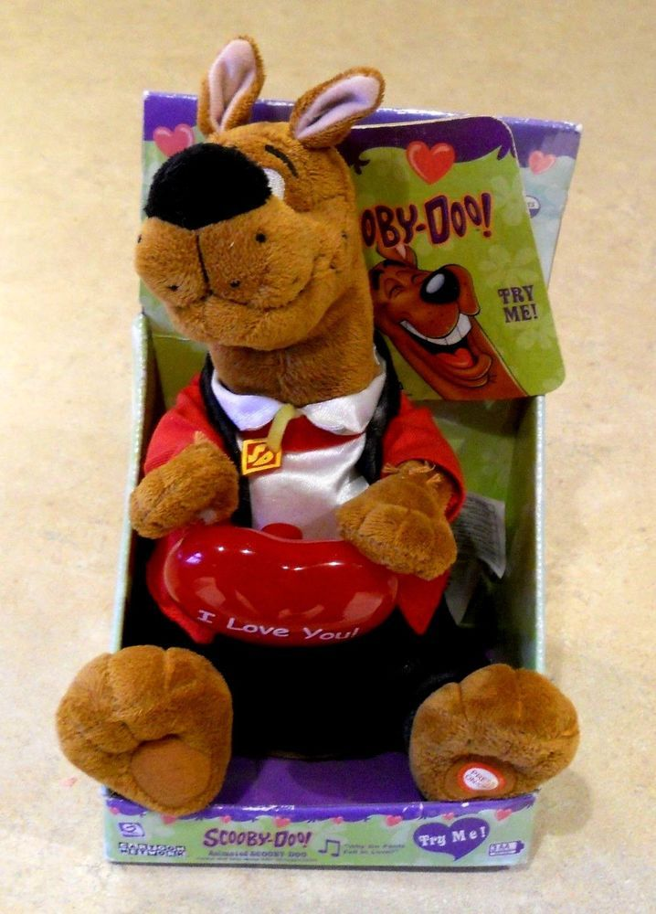 Scooby Doo Valentine Animated Toy Dog Singing Quot Why Do