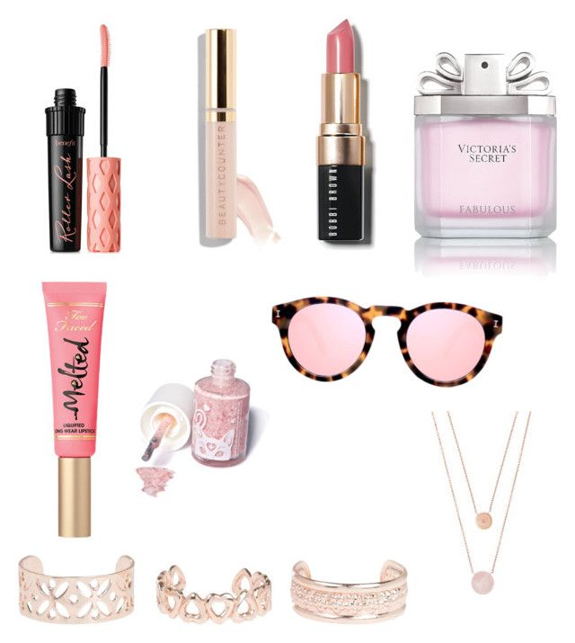 """Beauty💎💎💎💎💎"" by briana-maria-simon on Polyvore featuring beauty, Victoria's Secret, Bobbi Brown Cosmetics, Benefit, Too Faced Cosmetics, Sugarpill, Illesteva, Michael Kors and New Look"