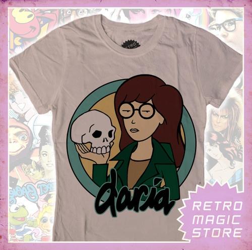 DARIA Girlie T-shirt MTV Helen Barksdale Jake Quinn   eBay