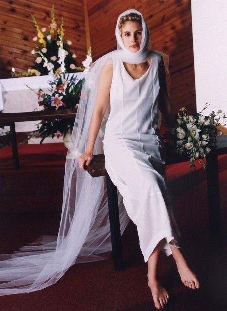 Julia Roberts On Her Wedding Day To Lyle Lovett June 1993