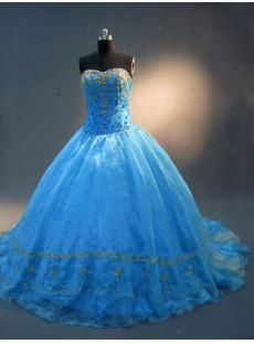 Blue and Gold Quinceanera Dresses 2012 IMG_2277