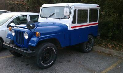 New life to old postal Jeep | Jeep cj5, Willys jeep, Jeep