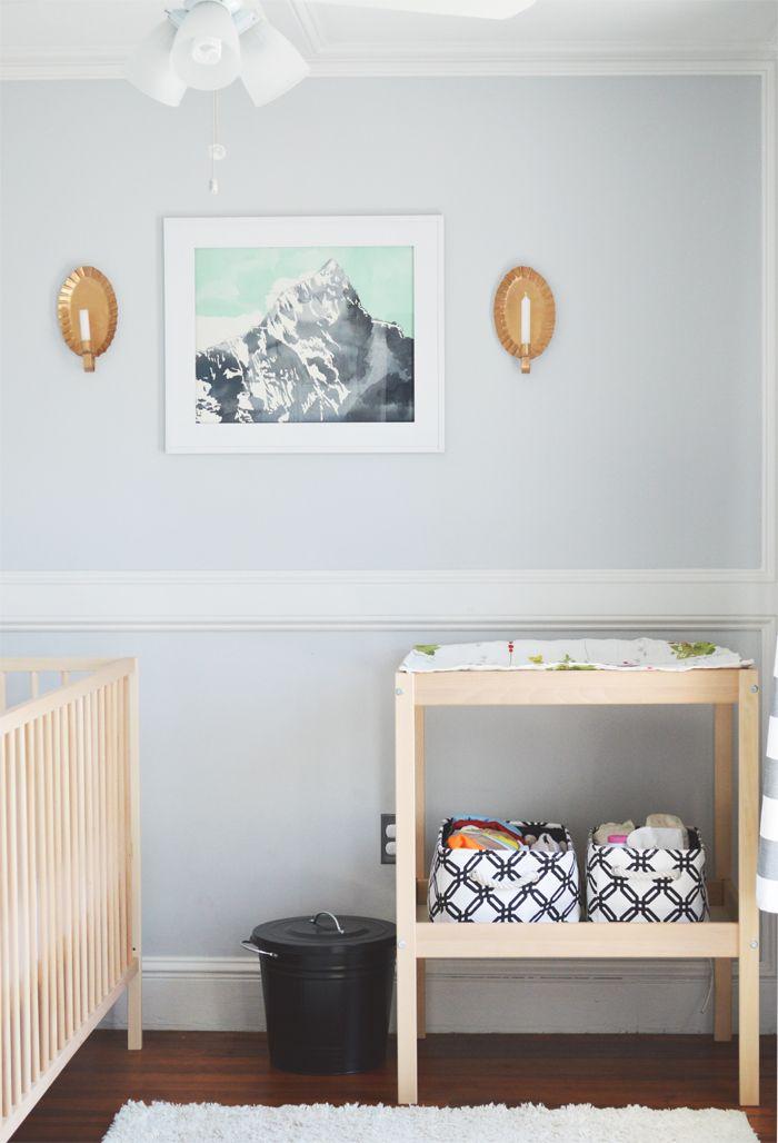 Amazing ... Wickeltisch Und Babybett In Birke, Aufbewahrung (sboxen) In Weiß/Birke.  Bunte Babylampen. | IKEA Kinderwelt   Klein U0026 Groß | Pinterest | Change  Tables,u2026