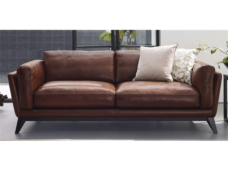 Domicil 'Adore' leather sofa - effortlessly cool! | My Apartment |  Pinterest | Leather sofas, Catalog and Condo living room