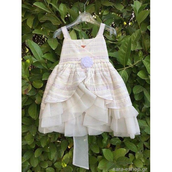 c3ba411adc2b Βαπτιστικό Φόρεμα Οικονομικό-Επώνυμο-Προσφορά-Τιμές New Life 1334-3 ...