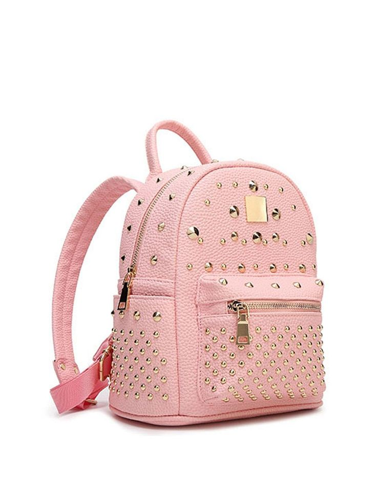 #AdoreWe #VIPme Backpacks - SVMONO Pink School Bags Backpacks for College Girls - AdoreWe.com