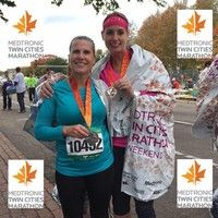 """Our own teacher, Deanna Chiodo, successfully completed the marathon, her first full marathon ever!  """"The marathon was awesome!!  The course was beautiful, the crowds were phenomenal and the weather was perfect!"""" - Deanna Chiodo said of her experience.  All of us at Ivan Sand wish to say """"CONGRATS"""" and to let you know what an inspiration you are for our family here at school!"""
