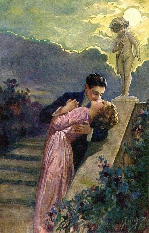 Lovers - Unknown Artist, c.1910