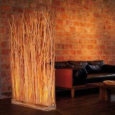 Lampade da terra in legno : Modello SKOVE