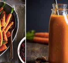Оранжевый детокс-смузи с льняным маслом