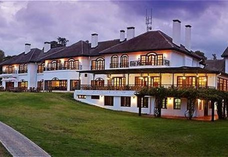 MT Kenya Safari Club |  Mount Kenya Safari Club - Exterior Night ...