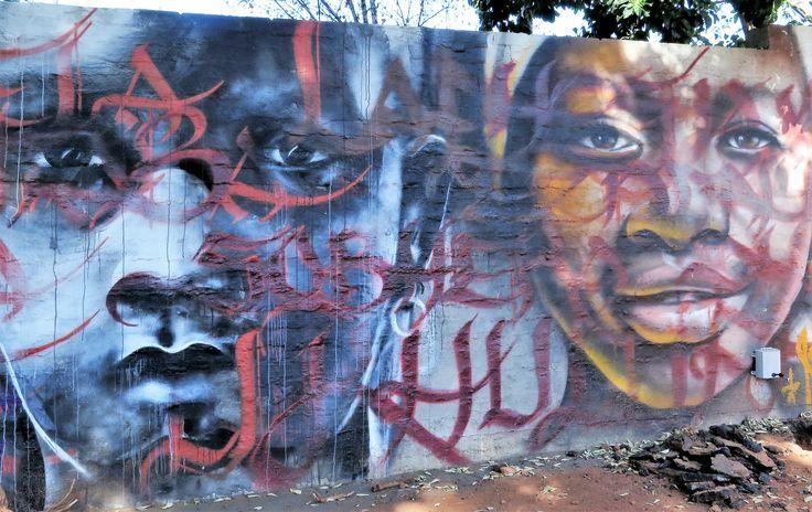 Melville street art