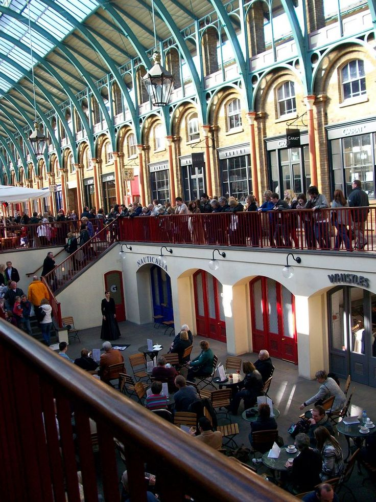 Covent Garden ,London today. Great for shopping, lunch and people watching.