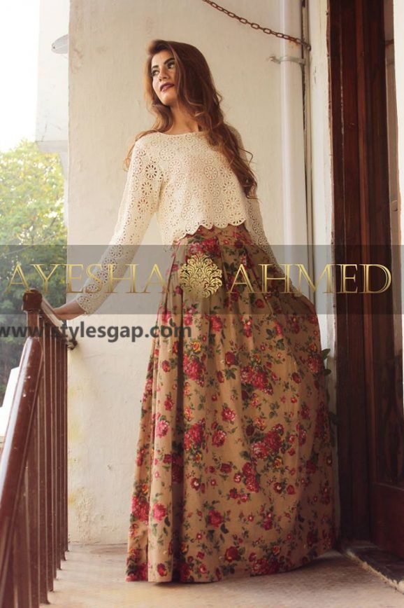 0e362484 Ayesha Ahmed Formals Party Wear Dresses Designs 2018-19 Collection ...