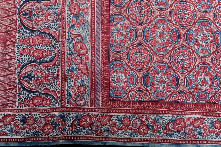 karun collection Indian trade cloth from the 1700's
