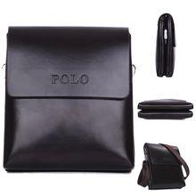 Hot Item classique hommes sac PU bandoulière en cuir messager sacs à Double poche Sacoche Homme sacs à main et téléphone sac Business Briefcase(China (Mainland))