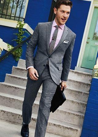 グレースーツの着こなし・合わせ方   スーツスタイルWEB