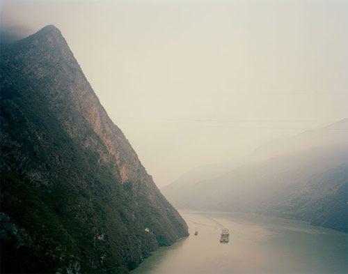 "From Nadav Kander's ""Yangtze: The Long River,"" A photo essay on China's longest river.  © 2010 Nadav Kander."