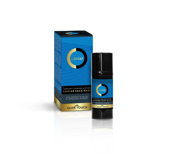 Instant Firming Action Caviar Face Mask 50ml || Μάσκα Προσώπου με εκχύλισμα χαβιάρι από οξύρρυγχο, πλούσιο σε αμινοξέα, πρωτεΐνες, βιταμίνες, ωμέγα-3 και ωμέγα-6 λιπαρά, που βοηθούν την διαδικασία ανανέωσης των κυττάρων και της αναδόμησης της επιδερμίδας