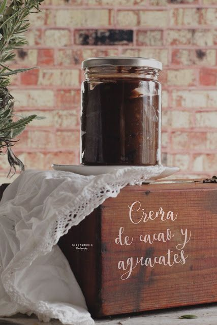 Como hacer crema de cacao y aguacates #vegana