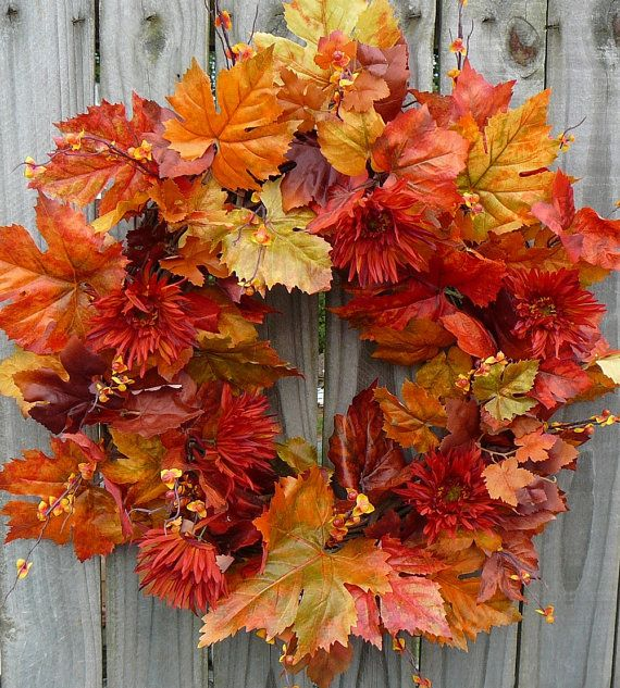 5 gyönyörű őszi koszorú, amelyet mi magunk is elkészíthetünk!