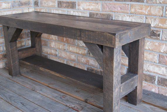 Farmhouse Foyer Bench : Cas farmhouse bench and entryway on pinterest