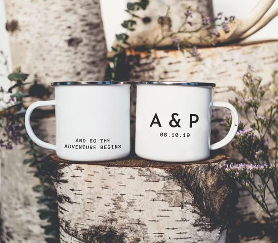 Wedding Favors Camp Mugs Wedding Camping Mug Personalized Wedding Mugs Custom Wedding One Mug Wedding Mugs Perfect Wedding Gift Diy Wedding Favors Cheap