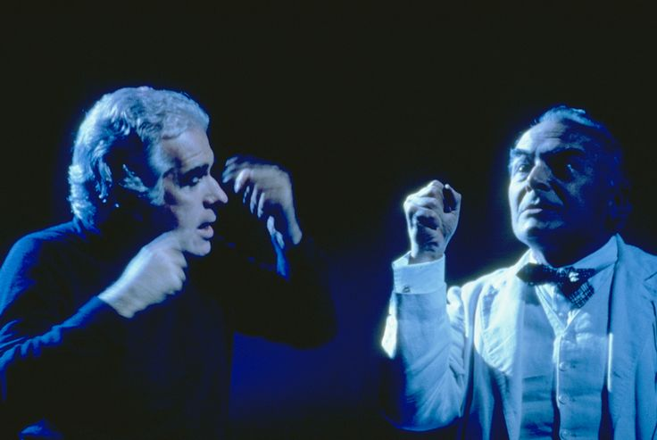 1980 Temporale di August Strindberg, regia di Giorgio Strehler , foto Luigi Ciminaghi