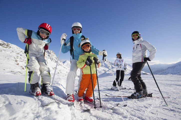 Family fun in Czech ski school