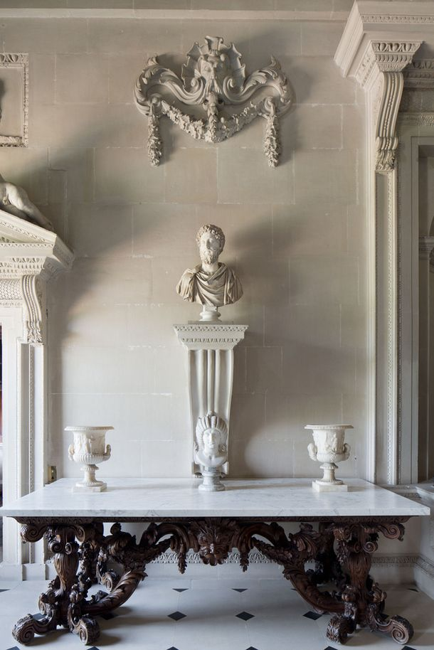 Antique And Classic Interiors ~ Houghton Hall, Norfolk, UK