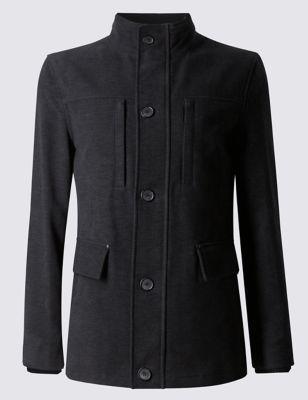 Modern Moleskin Jacket